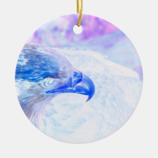 la derecha púrpura azul del revestimiento del ornamente de reyes