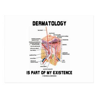 La dermatología es parte de mi existencia (las cap postales