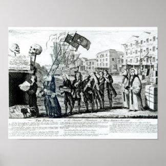 La derogación, o el cortejo fúnebre póster