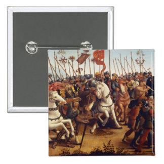 La derrota de Atenas de Minos, rey de Creta, de Pin Cuadrada 5 Cm