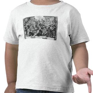 La derrota y la confusión de los Jansenists Camisetas