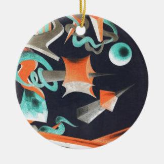 La desaparición forma I Ornamentos De Navidad