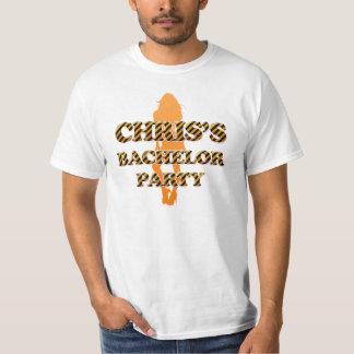 La despedida de soltero de Chris Playera