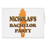 La despedida de soltero de Nicholas Felicitación