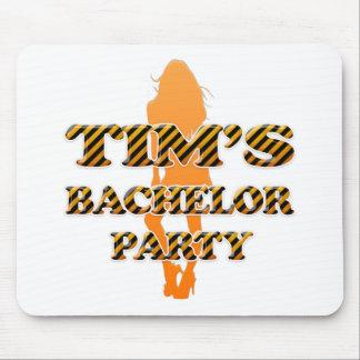 La despedida de soltero de Tim Tapetes De Ratón
