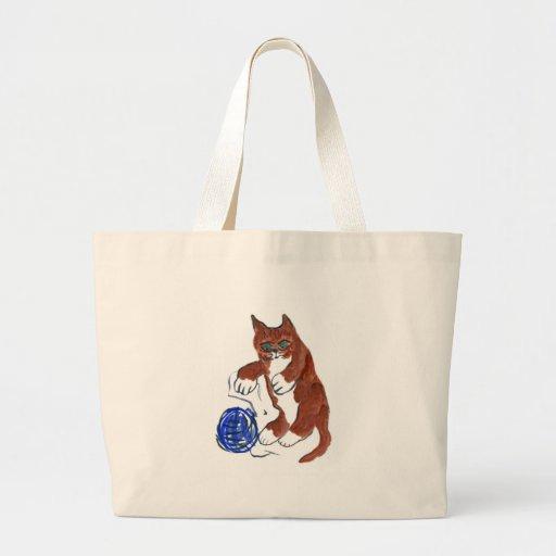La despedida del hilado, Wheeeeee, dice el gatito Bolsas De Mano