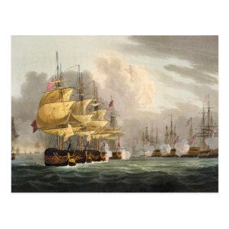 La destrucción de la flota danesa antes de Copenha Postales