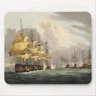 La destrucción de la flota danesa antes de Copenha Tapetes De Ratones