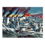 La destrucción del torpede ruso de Tanaka, Ryōzō Tarjeta Postal