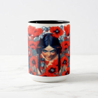 La Destruction Two-Tone Coffee Mug