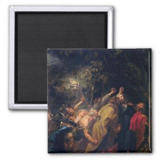 La detención de Cristo en los jardines, c.1628-30 Imán Cuadrado