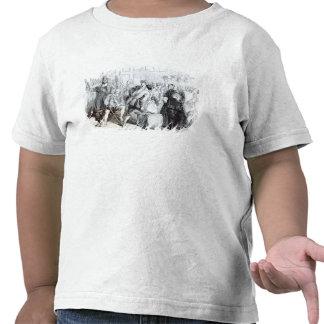La detención de inconformistas camiseta