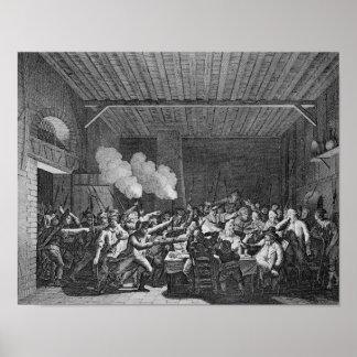 La detención de Louis XVI en Varennes Poster