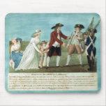 La detención de Louis XVI y su familia Tapetes De Ratones