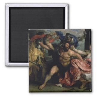 La detención de Samson, c.1628/30 Imán Cuadrado