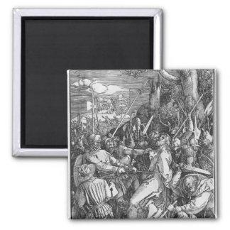 La detención del Jesucristo, 1510 Imán Cuadrado