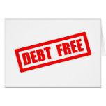 La deuda libera felicitación