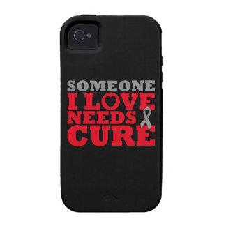 La diabetes alguien amor de I necesita una Vibe iPhone 4 Funda