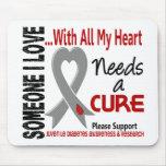 La diabetes juvenil necesita una curación 3 mousepads