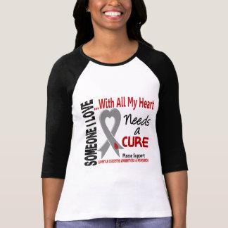 La diabetes juvenil necesita una curación 3 camiseta