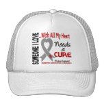 La diabetes necesita una curación 3 gorras de camionero
