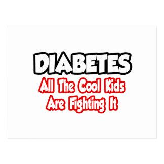 La diabetes… todos los niños frescos lo está lucha tarjetas postales