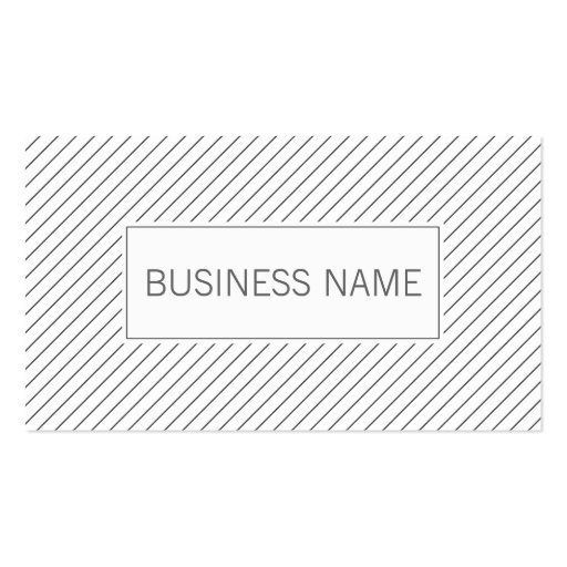 La diagonal moderna alinea la tarjeta de visita de