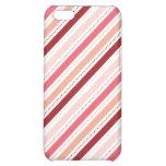 La diagonal roja y rosada raya el regalo del el dí