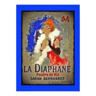 La Diaphane de Sarah Berhardt Comunicados Personalizados