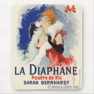 La Diaphane, Jules Chéret Mouse Pad