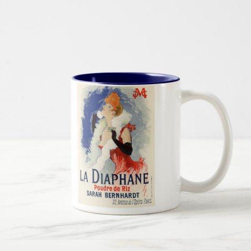 La Diaphane, Julio Chéret Taza De Café