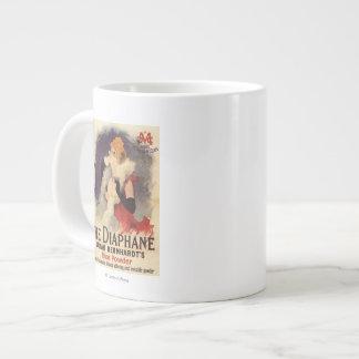 La Diaphane Woman Powdering Face Promo Poster Large Coffee Mug