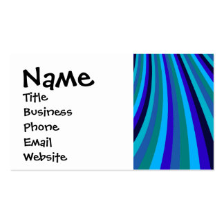 La diapositiva fresca del arco iris del gris azul tarjetas de visita