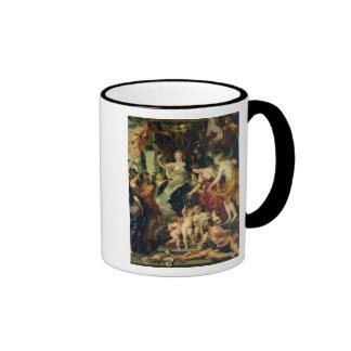 La dicha de la regencia, 1621-25 taza de dos colores