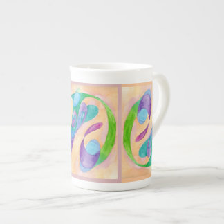 la dicha forma II Taza De Porcelana