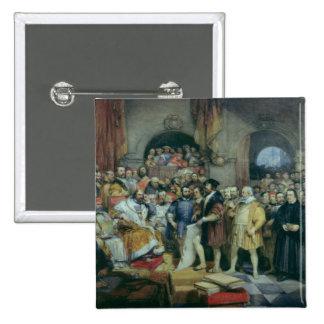 La dieta de chapiteles, el 19 de abril de 1529 pin cuadrado