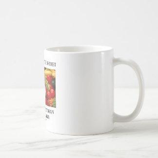 La dieta de la Soja-Suero-Proteína hace mirada veg Taza De Café