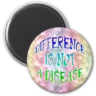 La diferencia no es imanes de una enfermedad imán redondo 5 cm