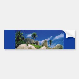 La Digue Islands Car Bumper Sticker