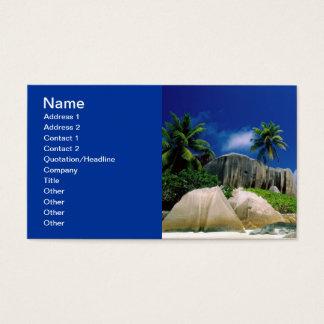 La Digue Islands Business Card