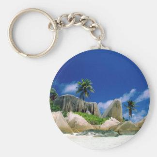 La Digue Islands Keychain
