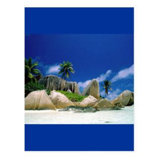 La Digue Islands Postcard