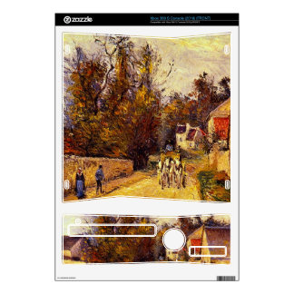 La Diligence, Route d'Ennery by Camille Pissarro Xbox 360 S Decals