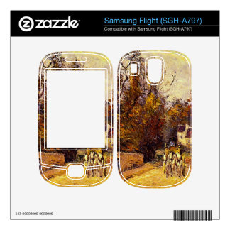 La Diligence, Route d'Ennery by Camille Pissarro Samsung Flight Decal