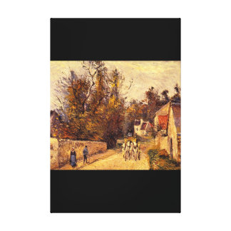 La Diligence, Route_Impressionists Canvas Print