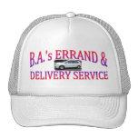 La diligencia de los vagos y servicio de entrega gorras de camionero