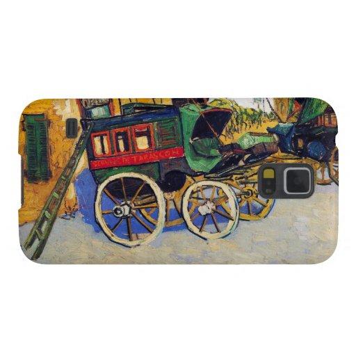 La diligencia Vincent van Gogh de Tarascon Fundas Para Galaxy S5