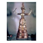 La diosa de las serpientes postales