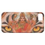 La diosa Durga y el tigre observa el caso del iPho iPhone 5 Funda