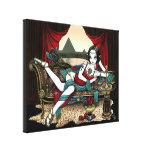 """La diosa egipcia de """"Mayet"""" envolvió la impresión  Lienzo Envuelto Para Galerías"""